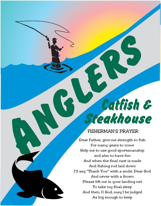 Angler's Catfish and Steakhouse Menu
